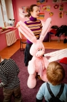 What a big pink hare!